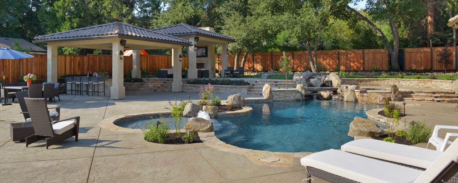 Pool builder lafayette pool design alamo danville pool for Quality pool design